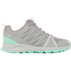 The North Face Litewave Fastpack II Schuhe Damen meld grey/surf green